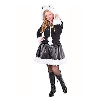Los trajes de los niños niñas gatito traje para niñas