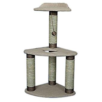 Lazy Bones 2-Tier Corner Cat Scratching Post