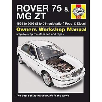 Rover 75 & MG ZT Service en reparatie handleiding (Haynes Service en reparatie handleidingen)
