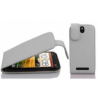 Gaine Cadorabo pour HTC ONE SV coque case cover - Coque de téléphone mobile en Flip Design en faux cuir texturé - Case cover Étui Sac de poche Style plié