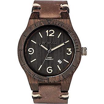 WEWOOD Analog quartz men's watch with leather WW08008