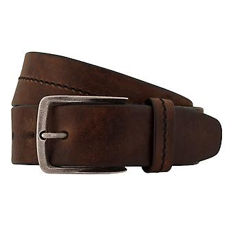 MIGUEL BELLIDO jeans belts men's belts leather belt Brown 7824