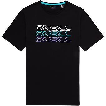O'Neill Men's T-Shirt ~ Triple Logo black