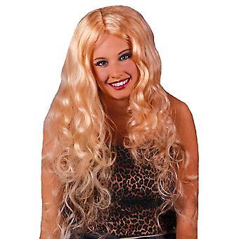 30-Zoll-Blonde Lockenperücke für Frauen