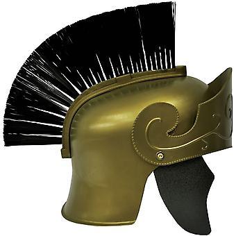 Romeinse helm Gd W zwarte borstel voor volwassenen