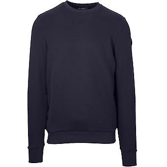 Colmar Woven Navy Metal Logo Sweatshirt