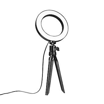 Selfie Lamp/Ring Light (15 cm) and stand