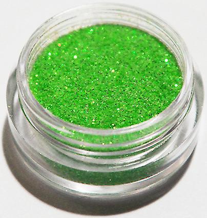 1pcs finkornet glitter Neon grønn