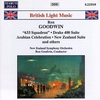 Ron Goodwin - Roy Goodwin: 633 Squadron; Drake 400 Suite; Arabian Celebration; New Zealand Suite [CD] USA import