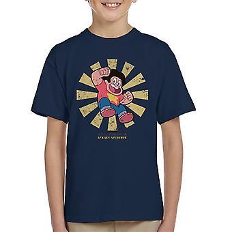 Steven Universe retro japán gyerek ' s póló