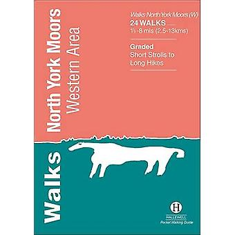Walks North York Moors - Western Area by Richard Hallewell - 978187240