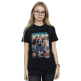 Riverdale Women's Pops Group Photo Boyfriend Fit T-Shirt