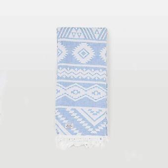 Passasjer Namber håndkle blå/hvit