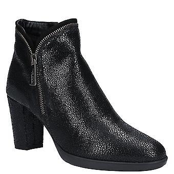 The Flexx Womens Briseide Zip Up Heeled Ankle Boot