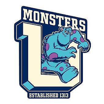 Car Magnet - Disney - Monster University - Sulley Gifts New Licensed Toys 21963