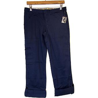 Motto Signature fit Tru-taille Convertible cargo broek marineblauw A212915
