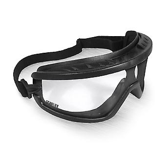 Stanley Unisex Basic Safety Goggle Black/Clear