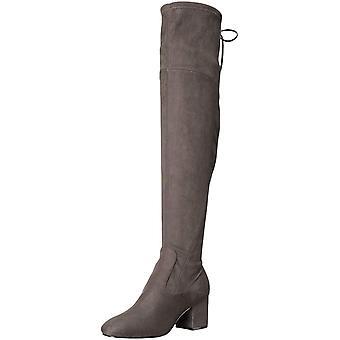 Ivanka Trump Womens Pelinda Suede Almond Toe Knee High Fashion Boots