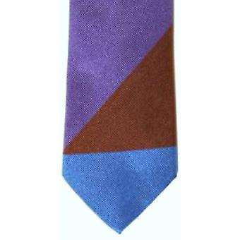 Gene Meyer Gledstone Tie - Purple/Brown/Blue -