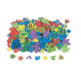 500 Under the Sea Foam Sticker Shapes for Kids Crafts