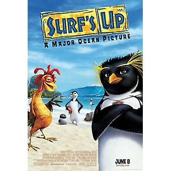 Surf-apos;s Up (Double Sided Regular Uv Coated) Original Cinema Poster