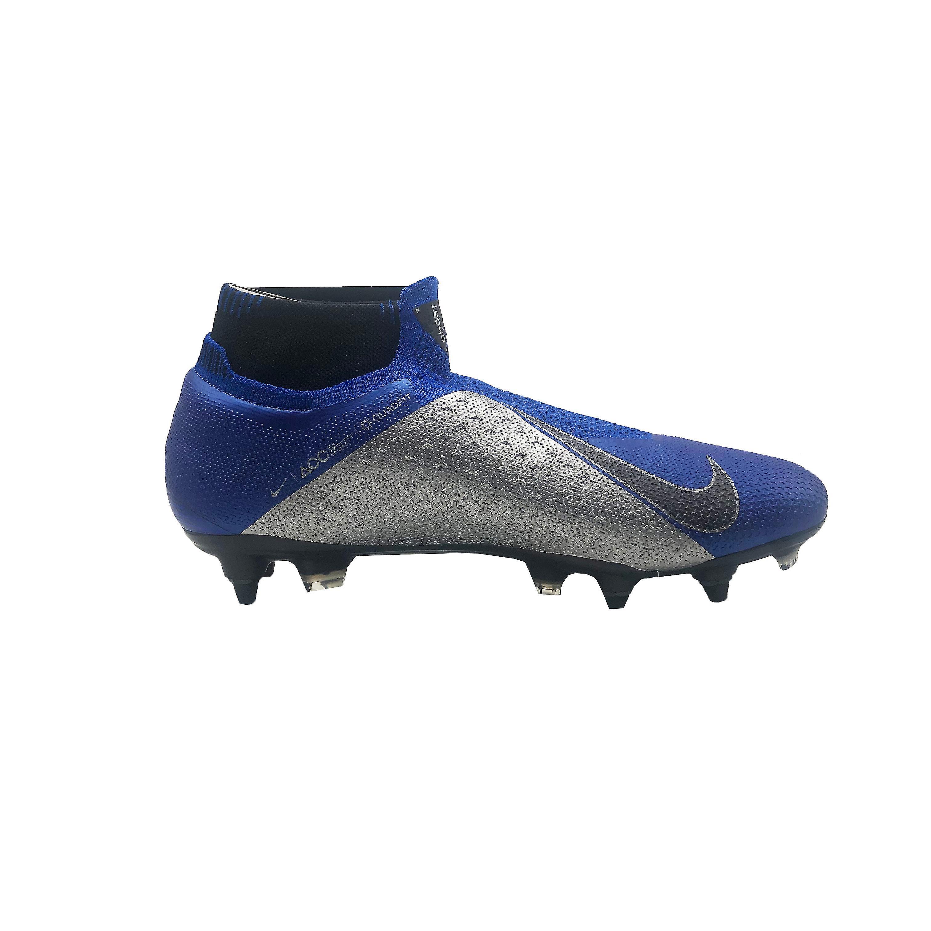 Nike Phantom VSN Elite DF SG-Pro AC AO3264 400 mens fotbollsskor