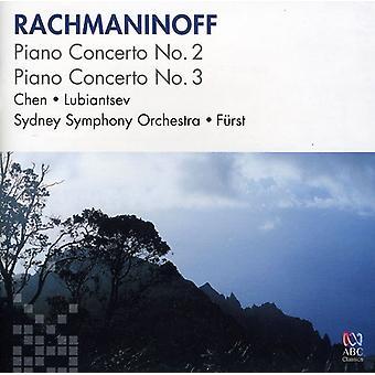 Chen, John/Alexander Lubiantsev/Sydney Symphony Orc-Rachmaninoff: Concerto para piano n º 2; Piano Concerto no. 3 [CD] EUA importação