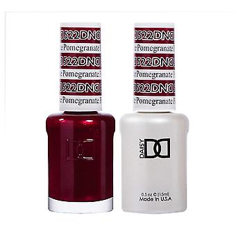 DND Duo Gel & Nail Polish Set - Pomegranate 522 - 2x15ml