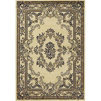 3' x 5' פוליפרופילן Ivoryor כחול אזור שטיח