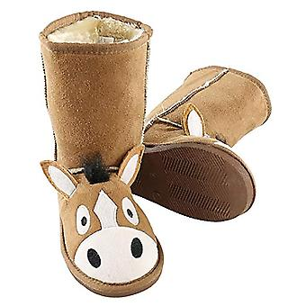 LazyOne Childrens/Kids Horse Toasty Toez Boot Slippers