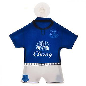 Everton FC Mini Kit Car Window Hanger