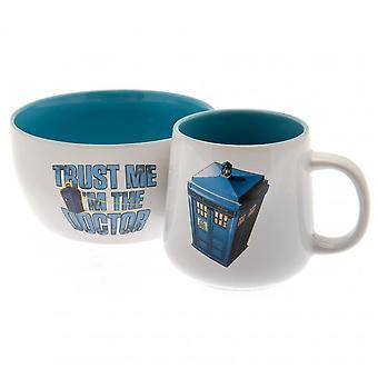 Doctor Who Trust Me Mug and Bowl Breakfast Set