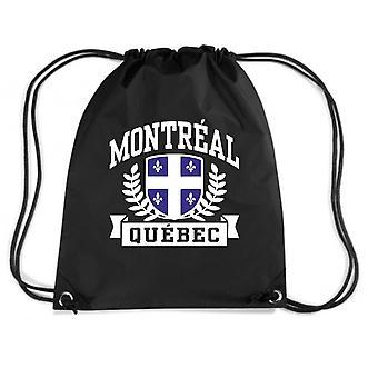 Black backpack dec0499 montreal quebec