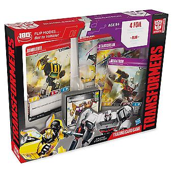 Transformatoren Hummel Megatron Starter Set Trading Card Game (Pack von 6)