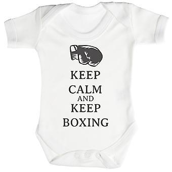 Calme garder boxe Body bébé / Babygrow