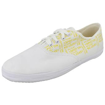 Mens Spot On Print Lace Up Pumps