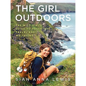 Girl Outdoors by Sian Anna Lewis