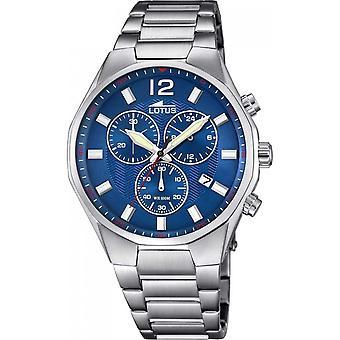 Lotus L10125-3 - klocka kronograf blå Man