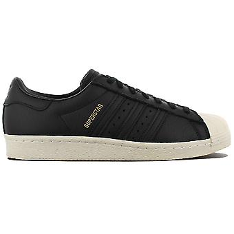 adidas Superstar 80s CQ2656 Shoes Black Sneakers Sports Shoes