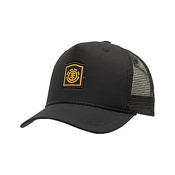 Element Wolfeboro Trucker Cap in Flint Black