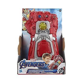 Marvel Avengers einde spel rode elektronische Gauntlet