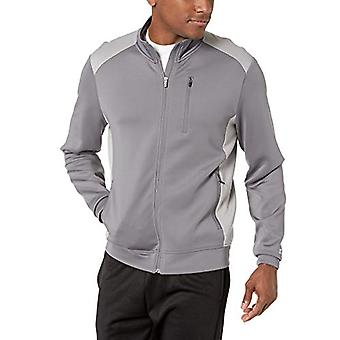 Starter Men's Standard Track Jacket, Iron Grey, Small