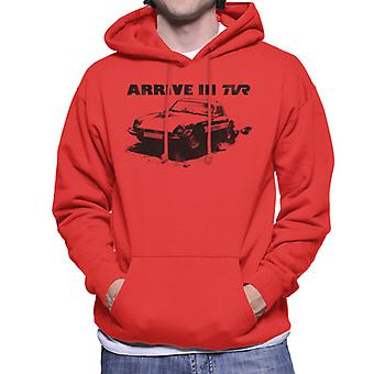 TVR Arrive In Retro M Series Men's Hooded Sweatshirt