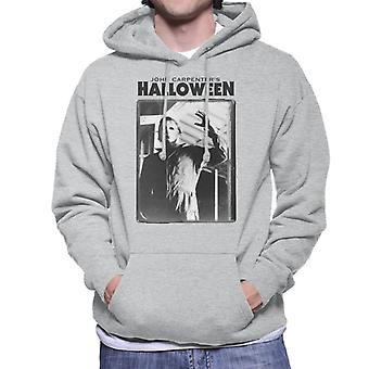Halloween Michael Myers Portrait Men's Hooded Sweatshirt