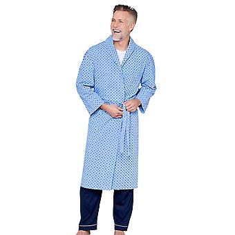 Tootal Tootal Mens Robe Printed Design Dressing Gown