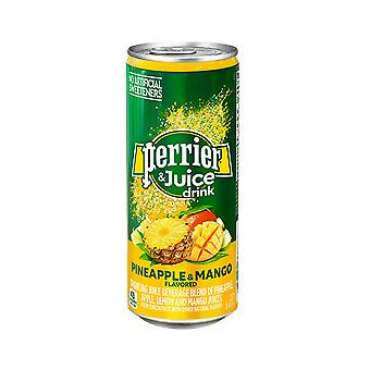 Perrier Slim Cans Pineapple Mango -( 330 Ml X 24 Cans )