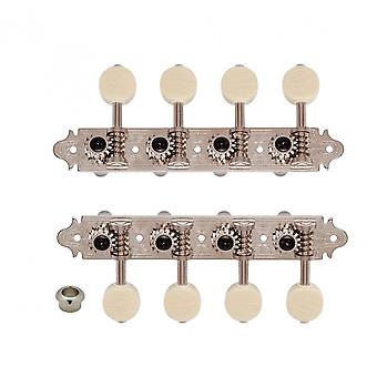 Gotoh Ma40 A-style Mandolin Machine Heads With Mm Buttons, 14:1 Gear Ratio