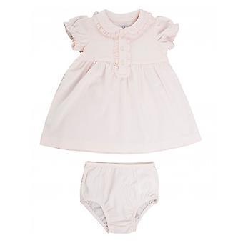 Polo Ralph Lauren Childrenswear Pima katoen gegolfde Polo jurk