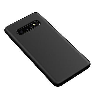 Stilfuld skal i holdbart TPU- Samsung Galaxy S10 PLUS