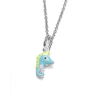 David Deyong Children's Sterling Silver Little Seahorse Necklace